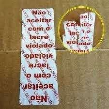 adesivo lacre de segurança