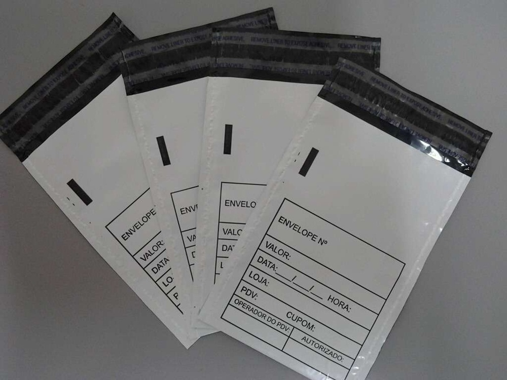 envelopes plásticos de segurança tipo void