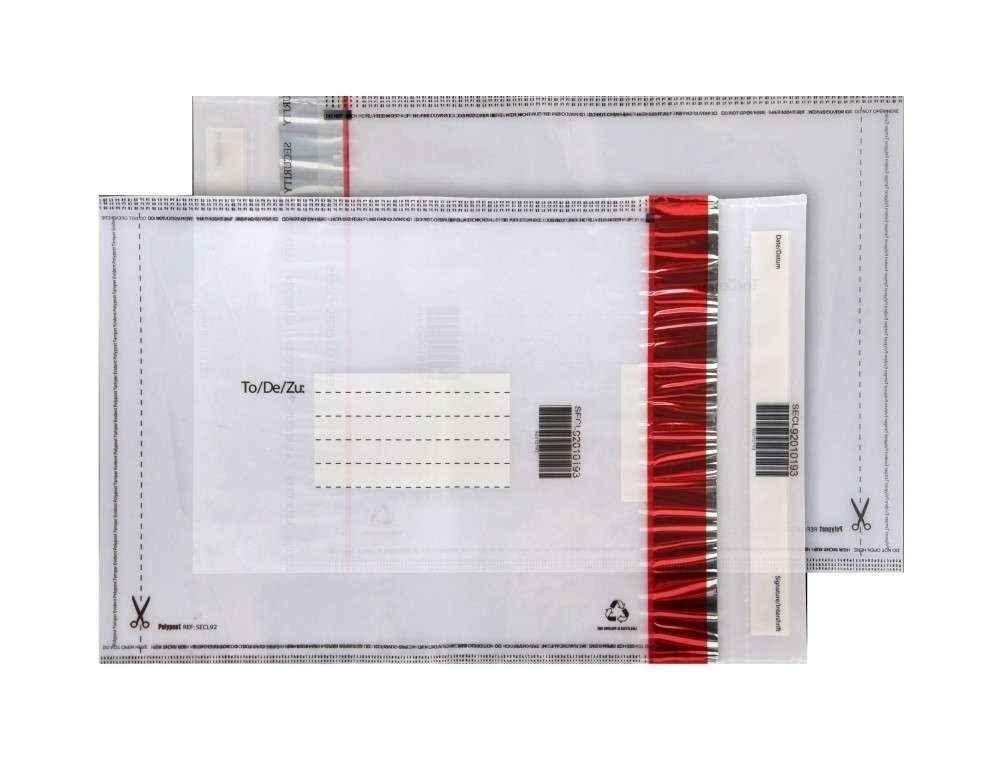 envelopes segurança com adesivo